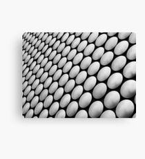 Repeating architectural pattern Canvas Print