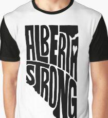 Alberta Strong (Black) Graphic T-Shirt