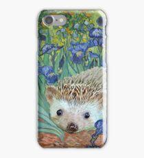 "Vincent van Hog's ""Irises and Also a Hedgehog"" iPhone Case/Skin"