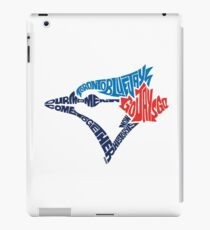 Toronto Blue Jays (Blue) iPad Case/Skin