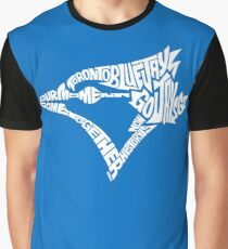 Toronto Blue Jays (white) Graphic T-Shirt