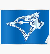 Toronto Blue Jays (white) Poster