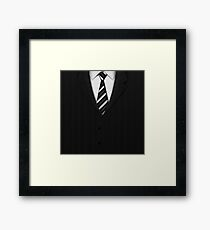Exclusive Suits Framed Print