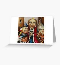 Flatterers Greeting Card