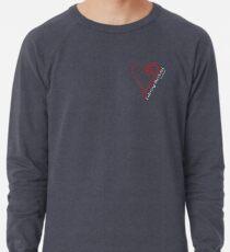 Entering The Portal Heart 02 Lightweight Sweatshirt