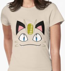 Meowth Women's Fitted T-Shirt