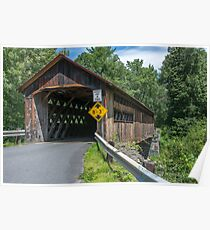 Coombs Covered Bridge Poster