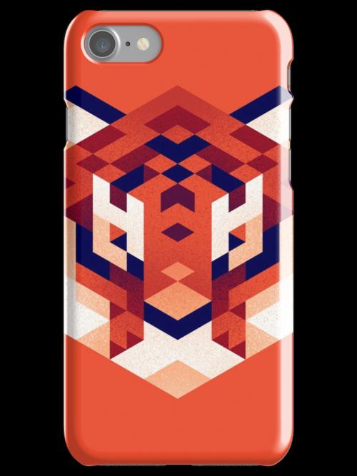 Trixel Tiger by etall