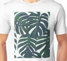 monstera leaves Unisex T-Shirt