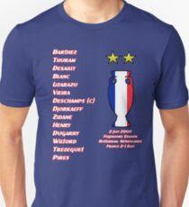 France 2000 Euro Winners Unisex T-Shirt