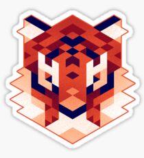 Trixel Tiger Sticker