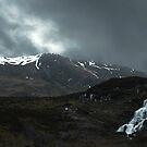 highland waterfall by joak