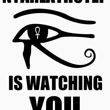 Nyarlathotep is watching you by PavelPepin