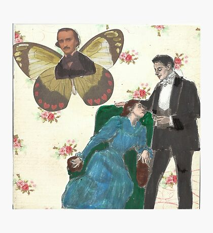 Poe Butterfly(please read description of this work) Photographic Print