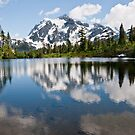 Mount Shuksan Reflected in Picture Lake by Jeff Goulden
