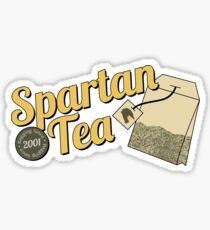 Spartan Tea Sticker