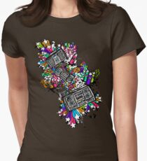 Blaster Shaz Womens Fitted T-Shirt