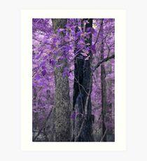 Alternative Universes - Twin Trees Art Print