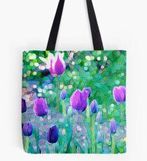Tulip Mania Tote Bag