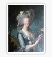 Marie Antoinette, Queen of France Sticker