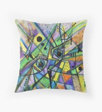 Through My Eyes  Throw Pillow