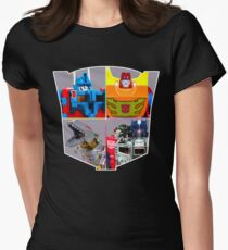 TRANSFORMERS FIGURES!!! G1 Autobot Logo  Women's Fitted T-Shirt