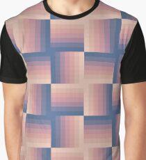 Pixellated Sunrise Graphic T-Shirt
