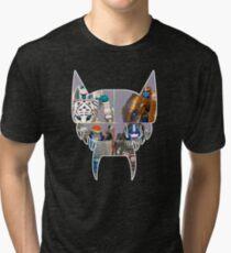 TRANSFORMERS FIGURES!!! Beast Wars Maximal Logo  Tri-blend T-Shirt