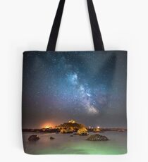 Milky Way at the Mount Tote Bag