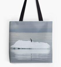 Penguin Dive Tote Bag