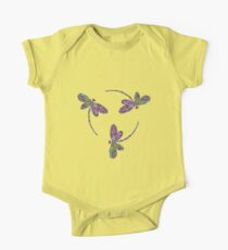 Dragonfly Trio T-Shirt One Piece - Short Sleeve