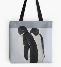 Penguin Pair Tote Bag