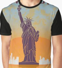 New York vintage poster Graphic T-Shirt