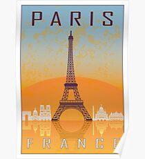 Paris vintage poster Poster