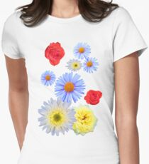 Colorful flowers like living T-Shirt