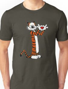 Calvin and Hobbes Love Unisex T-Shirt