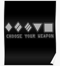 World Of Tanks Choose Yoor Weapon Poster