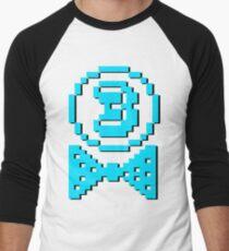 3 Emblem 3SQUIRE Men's Baseball ¾ T-Shirt