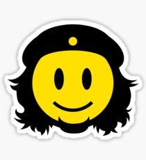 Che Guevara Smiley No.2 Sticker
