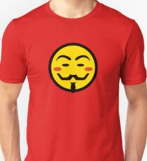 Anonymous Vendetta Smiley Unisex T-Shirt