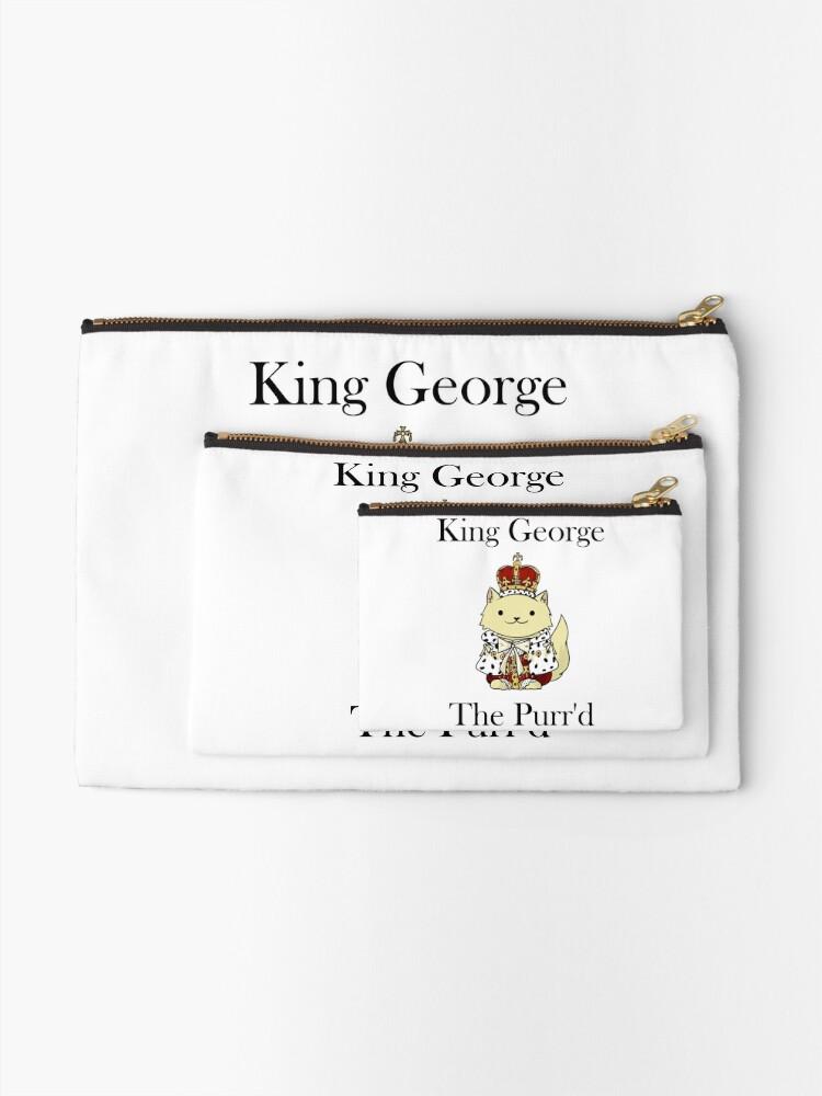 Vista alternativa de Bolsos de mano El rey Jorge el Purr'd