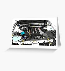 RB26DETT Greeting Card