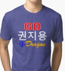 ♥♫Big Bang G-Dragon Cool K-Pop GD Clothes & Stickers♪♥ Tri-blend T-Shirt