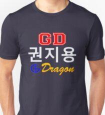 Camiseta ajustada ♥ ♫ Big Bang G-Dragon Cool K-Pop GD Ropa y Pegatinas ♪ ♥