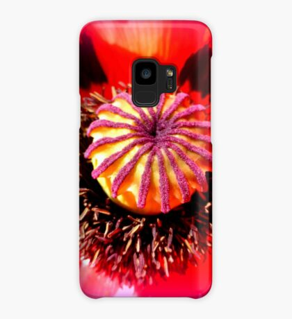 Oriental Poppy Portrait Case/Skin for Samsung Galaxy