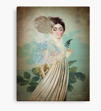 Chinese Flower Canvas Print