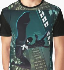 Spider - Black suit Graphic T-Shirt