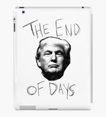The End Of Days iPad Case/Skin