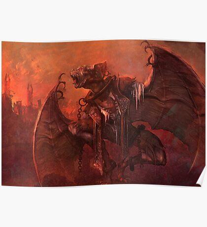 Vampiric Transformation Poster