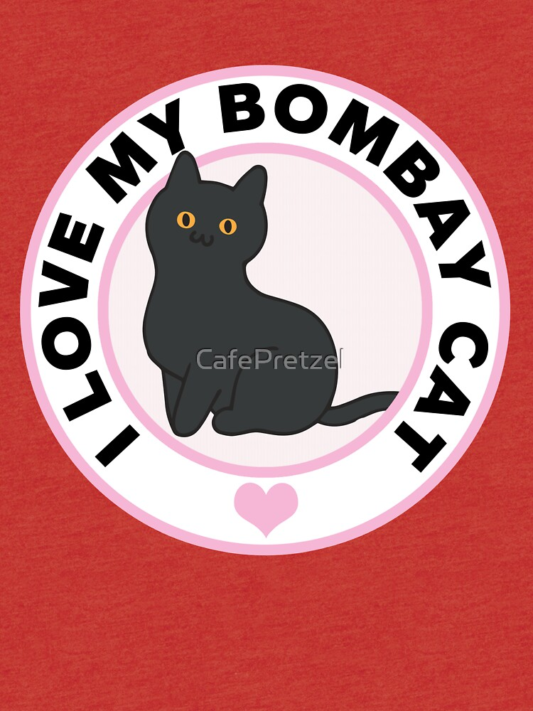 Bombay Cat Lover T-Shirts by CafePretzel